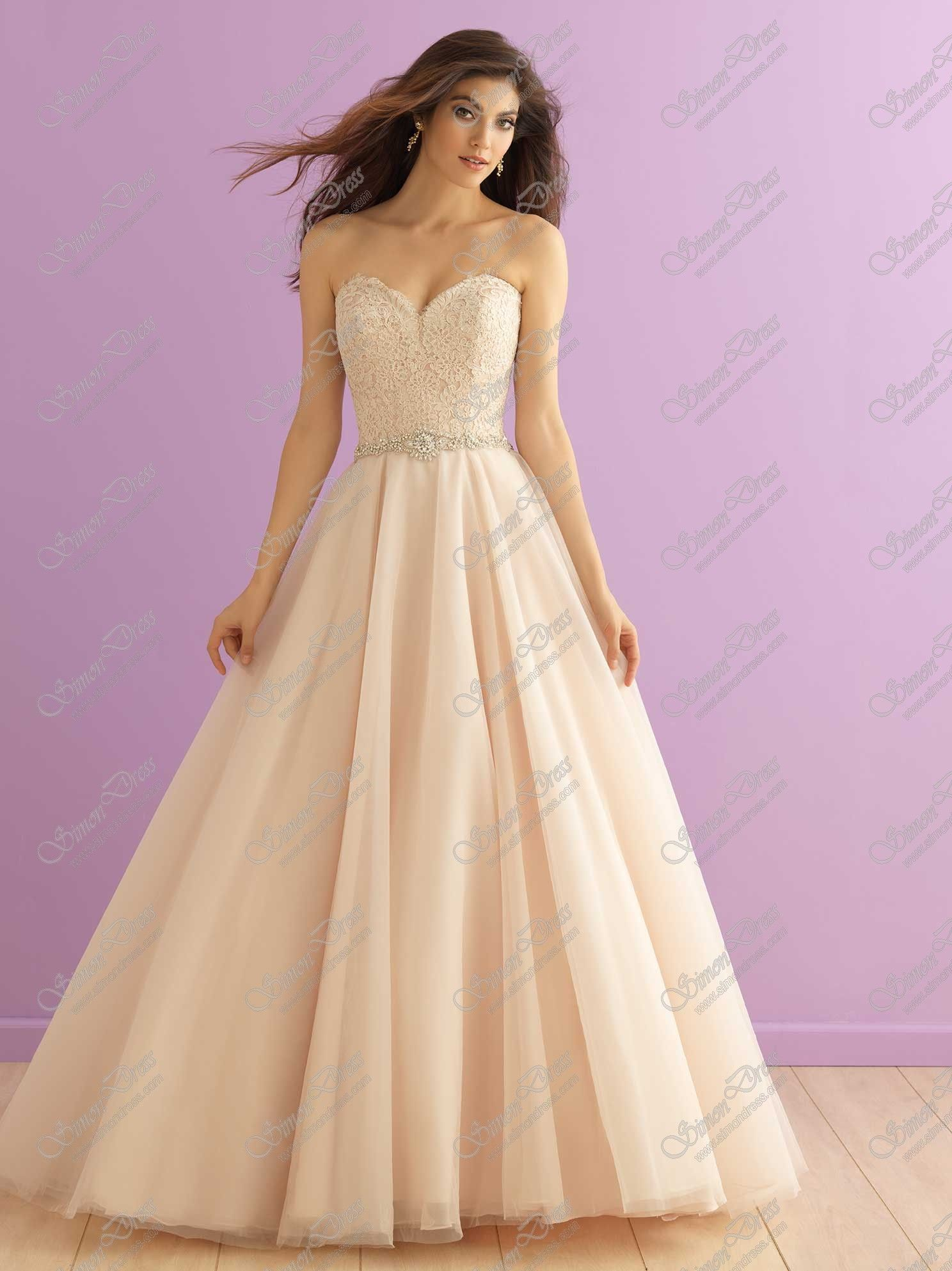 Allure Bridals Wedding Dress Style 2915