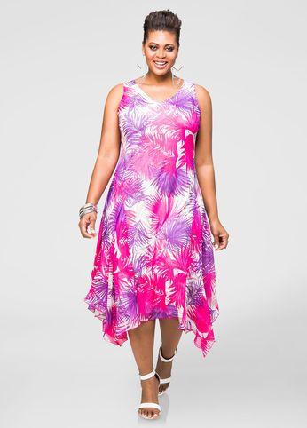 d40eea37d78 Tropical Hanky Hem Maxi Dress Tropical Hanky Hem Maxi Dress