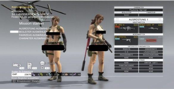 Metal Gear Solid 5 Nude