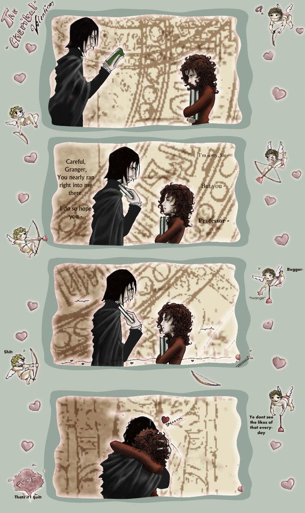 Sshg Love The Cherable Valentines By Cruel Crush Harry Potter Snape Harry