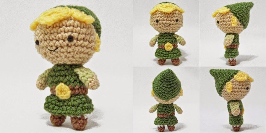 Free Pattern: Mini Link Amigurumi (i crochet things) | Patrones ...