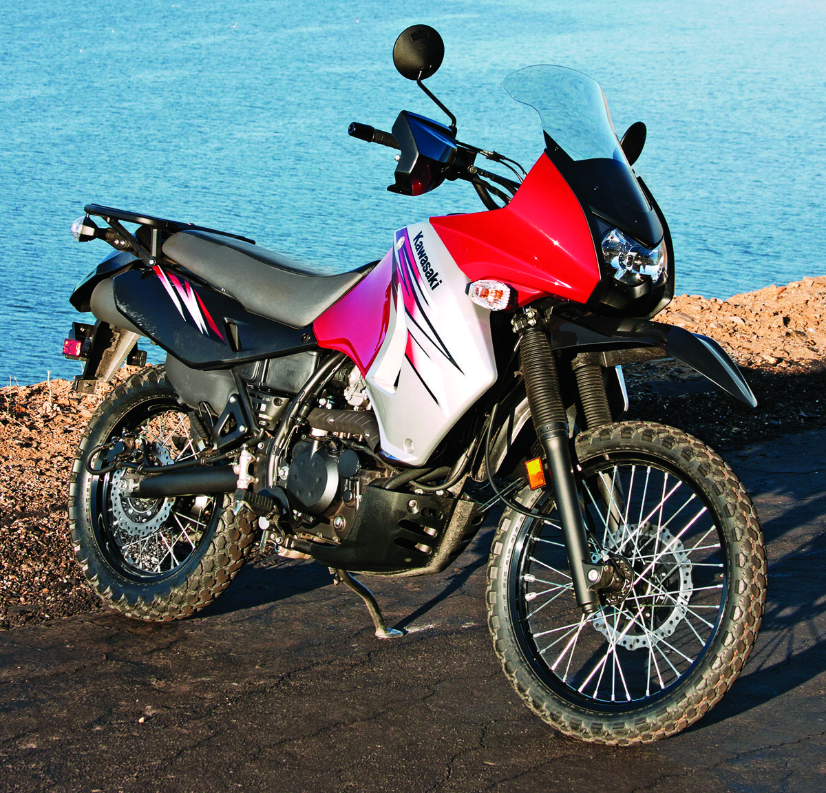 2012 Kawasaki Klr650 Which Was Featured In A Comparison With The
