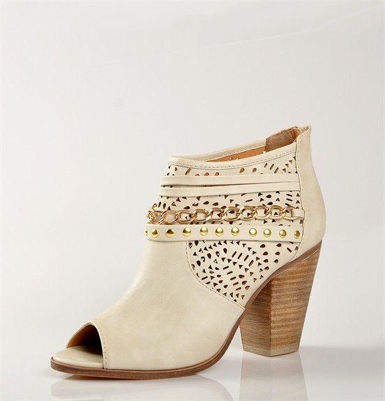 d77e03aa56 Chaussures FEMME - DECOLLETES ECRU - MASCARA - Chaussures Desmazieres