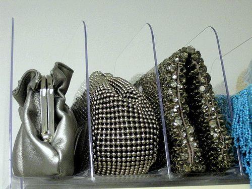 I like this idea for small purses!