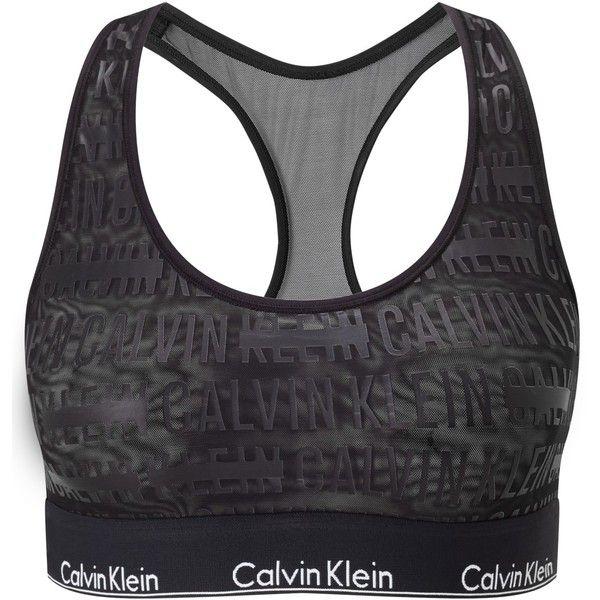 0424ebf5b1031 Calvin Klein Underwear Modern Cotton Censored Logo Bralette