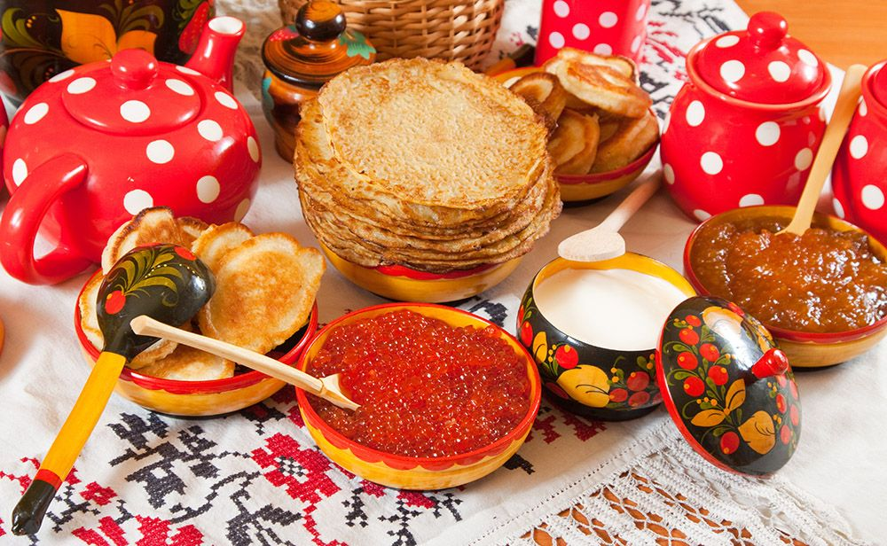 List Of Russian Holidays Russia Pancakes Russia Food