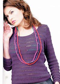 Scoop neck jumper:#knit #knitting #free #pattern #freepattern #freeknittingpattern #knittingpattern