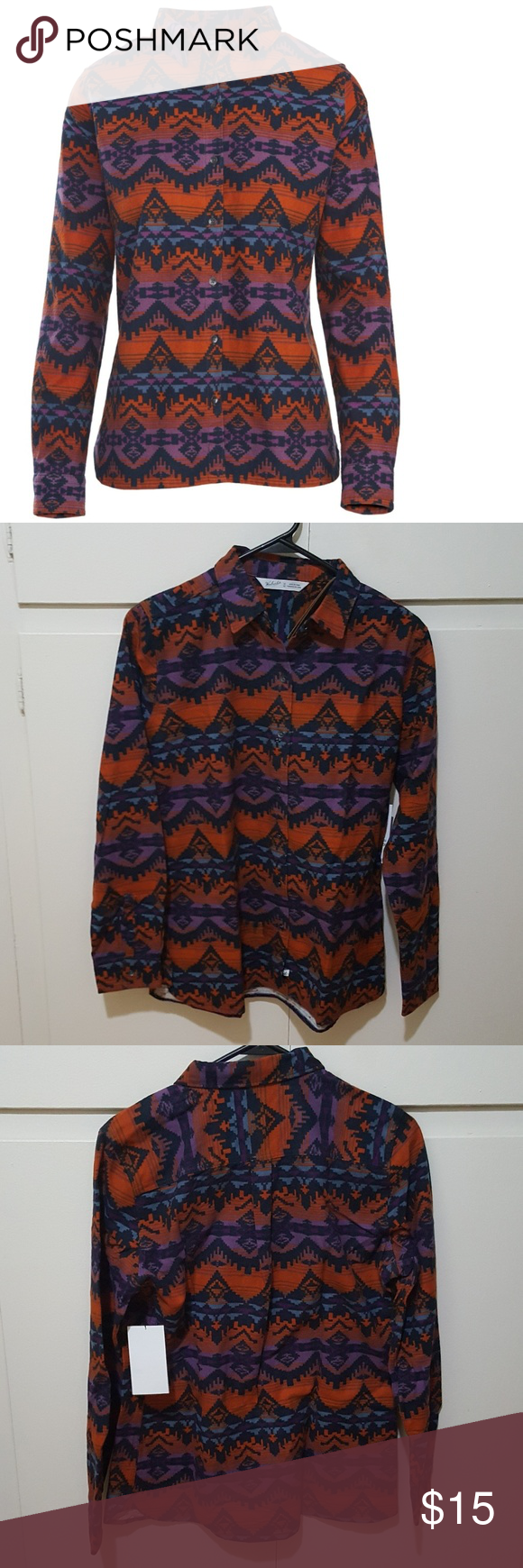 d7b3d825 Woolrich Keystone Printed Chamois Shirt Made from soft, 100% cotton with  heritage styling,