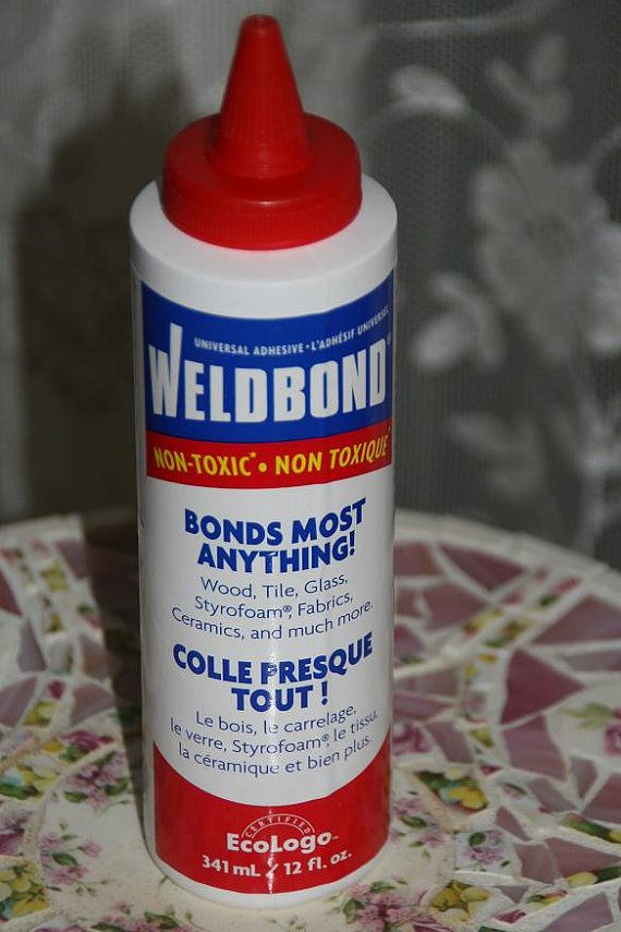 Weldbond Glue Adhesive For Mosaic Glass Wood Tile Projects 12 Oz