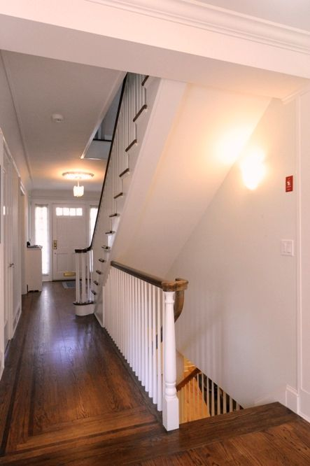 Pin By Kristin Hunt On For The Home Open Basement Open Basement Stairs Basement Stairs