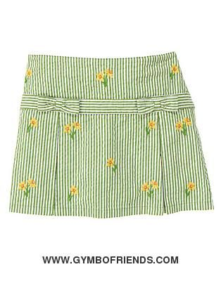 NWT Gymboree - Daffodil Garden - Daffodil - $15 Stripe Seersucker Skort - Size 10 - 1 available - $15 shipped