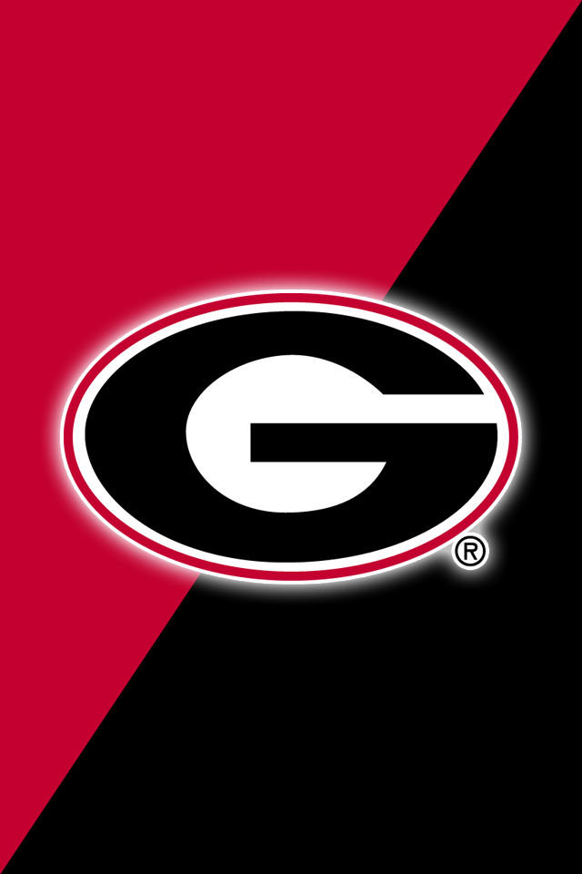 Get A Set Of 12 Officially Ncaa Licensed Georgia Bulldogs Iphone Wallpapers Sized For Any Model Georgia Dawgs Georgia Bulldogs Football Georgia Bulldogs Crafts