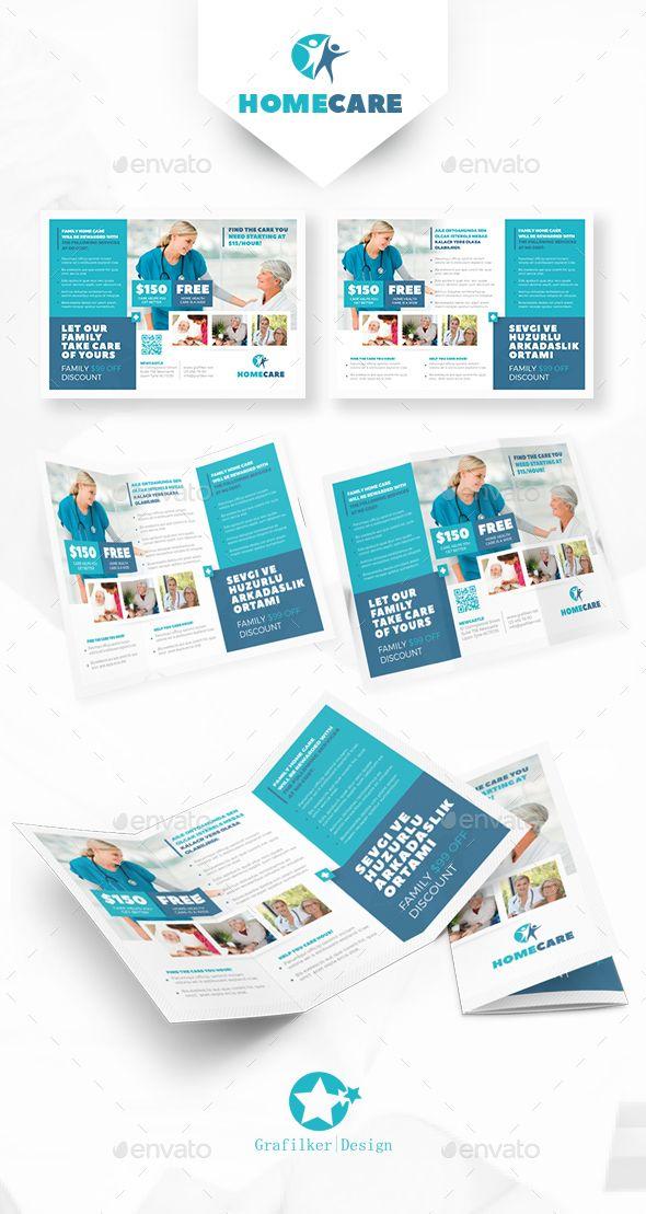 Home Health Care TriFold Templates Tri Fold Template And Brochures - Home health care brochure templates