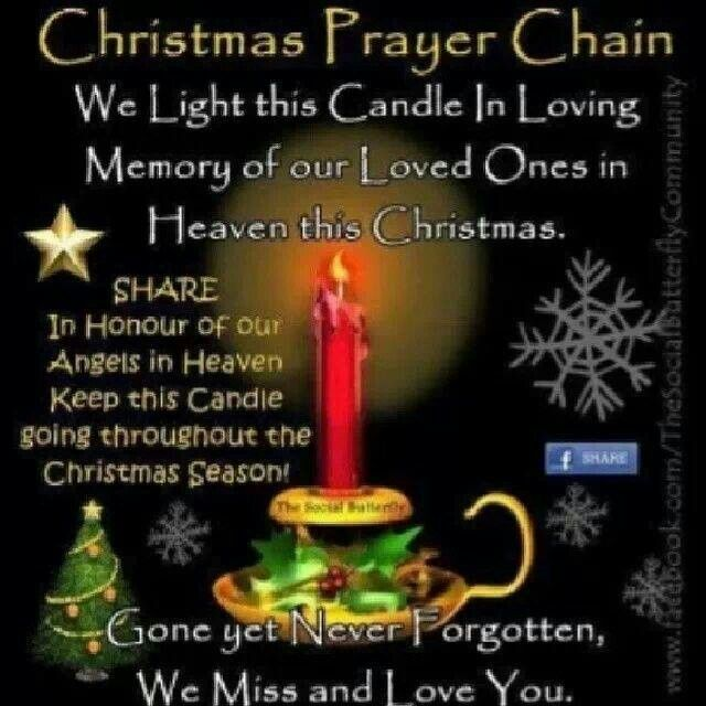 For those no longer with us | Christmas prayer, Loved one ...