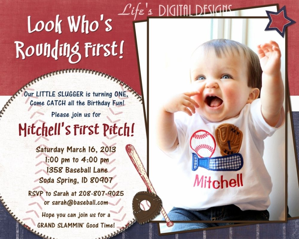 Get Baseball Party Invitation Ideas Download this invitation for ...