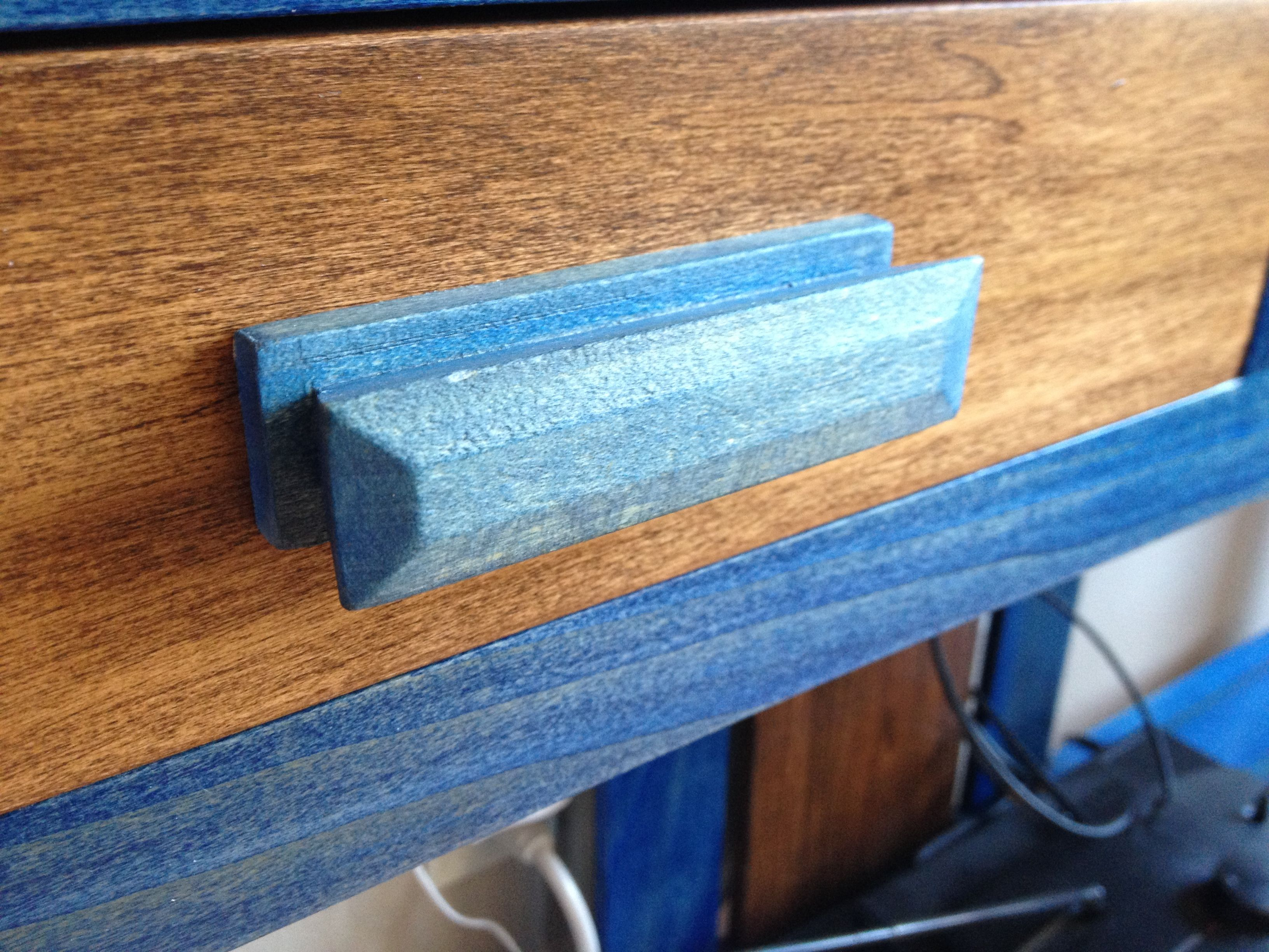 Shop made drawer pulls | Personal projects | Pinterest