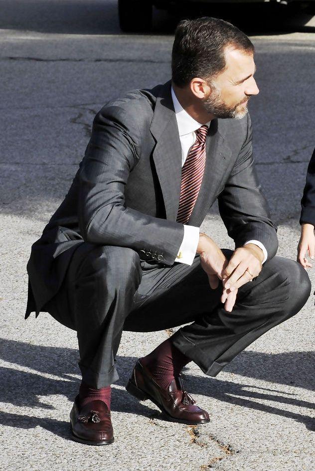 daddydepot:  God damn! He's fucking beautiful!   Felipe de Borbón, Prince of Spain