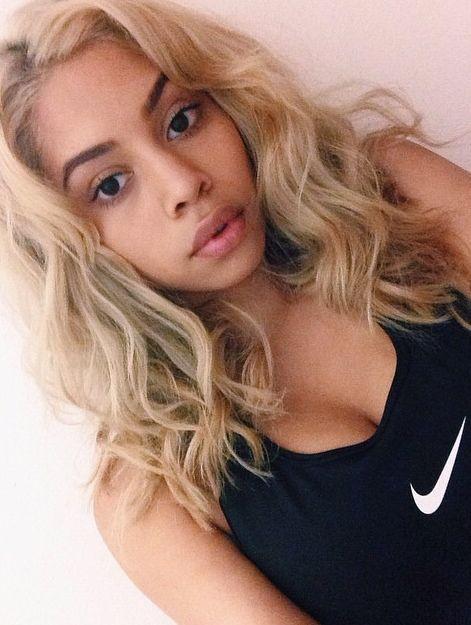 Image Result For Black Girls Ash Blonde Hair Ash Blonde Hair