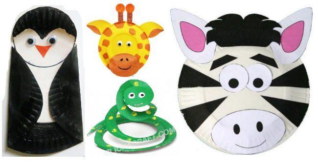 ANIMAL PAPER PLATE CRAFTS & ANIMAL PAPER PLATE CRAFTS   Paper plate animals Paper plate crafts ...