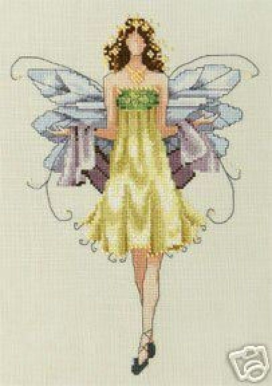 Pixie Couture_Daisy - 1/3  Solo Patrones Punto Cruz (pág. 385) | Aprender manualidades es facilisimo.com