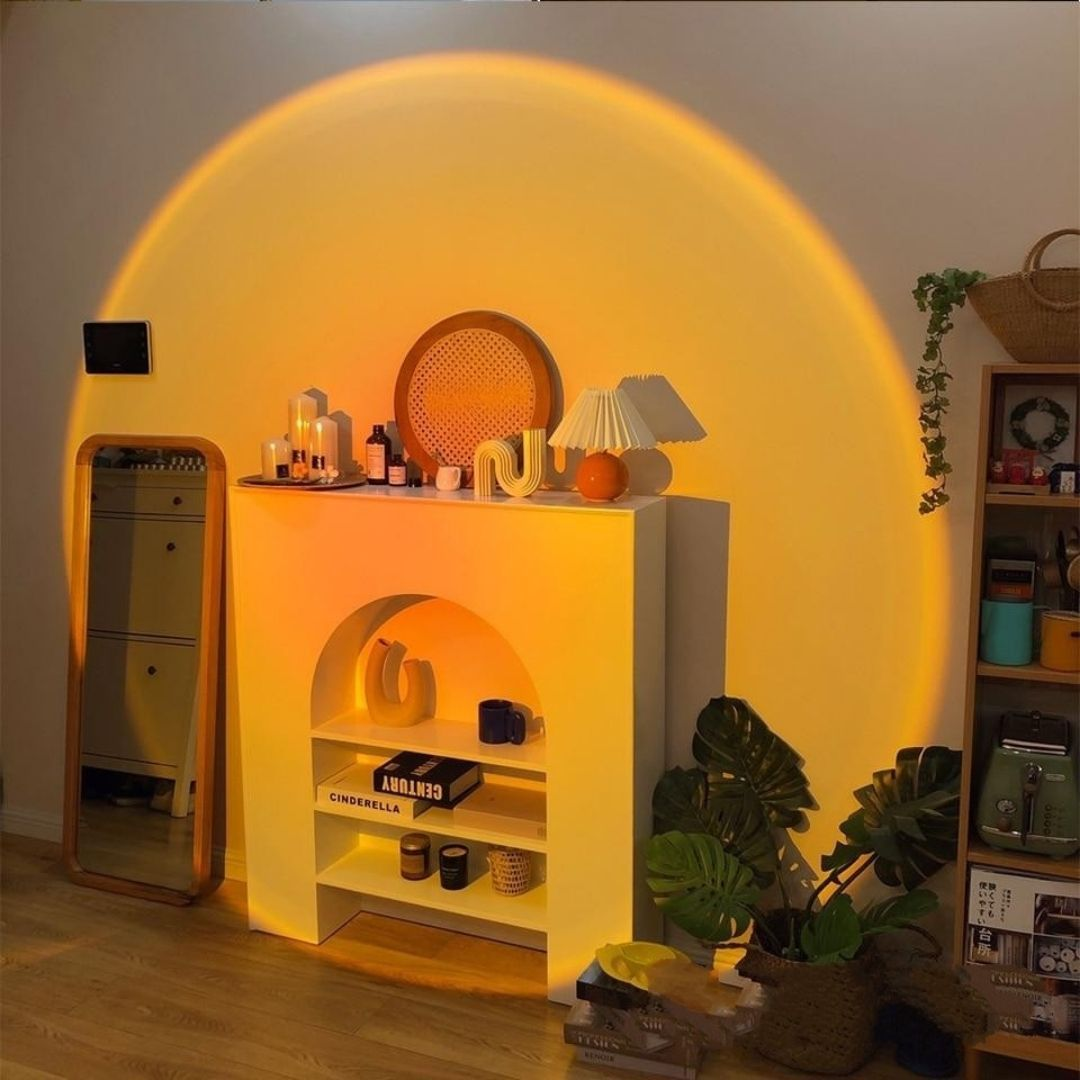 SunsetLamp™ - 4-in-1 Sunset Projector Mood Lamp & Night Light