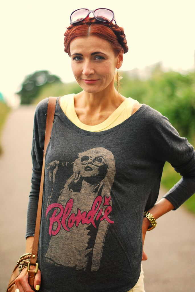 Blondie rock tee