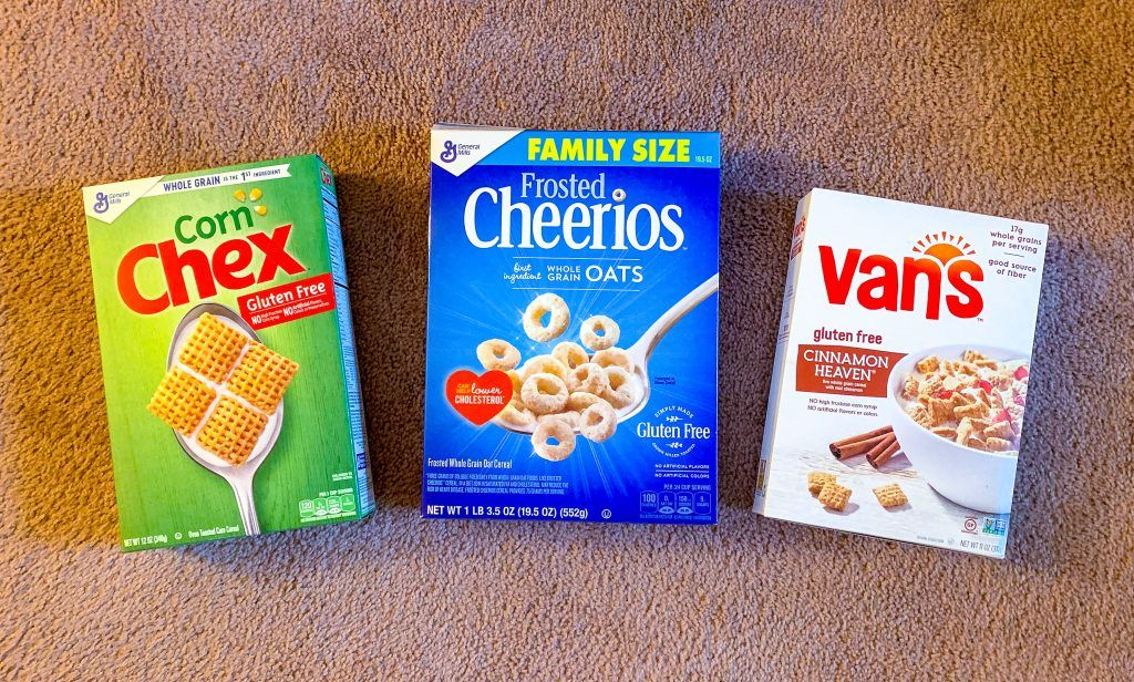 Favorite glutenfree cereal an education in