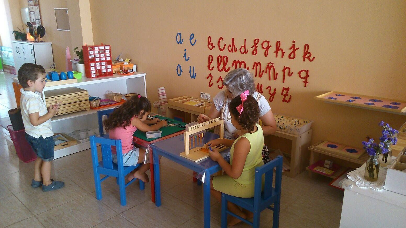 Casa de niños Montessori en Zafra