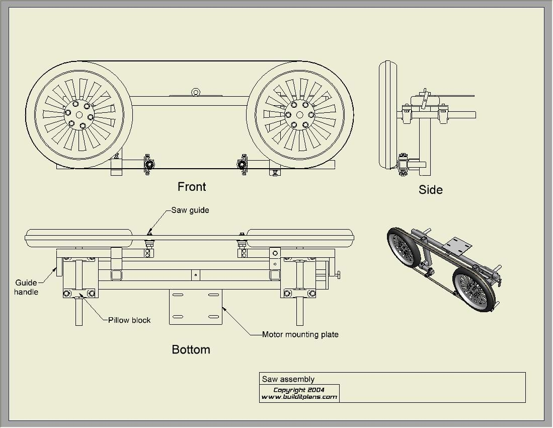 Homemade Band Sawmill Plans Pdf Beste Awesome
