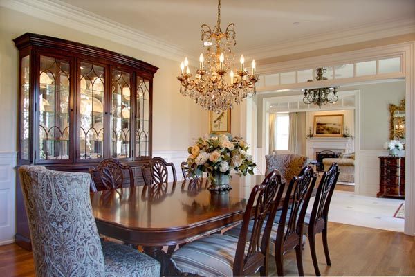 Traditional Dining Room Mom Dad S Table New End Chairs To Make