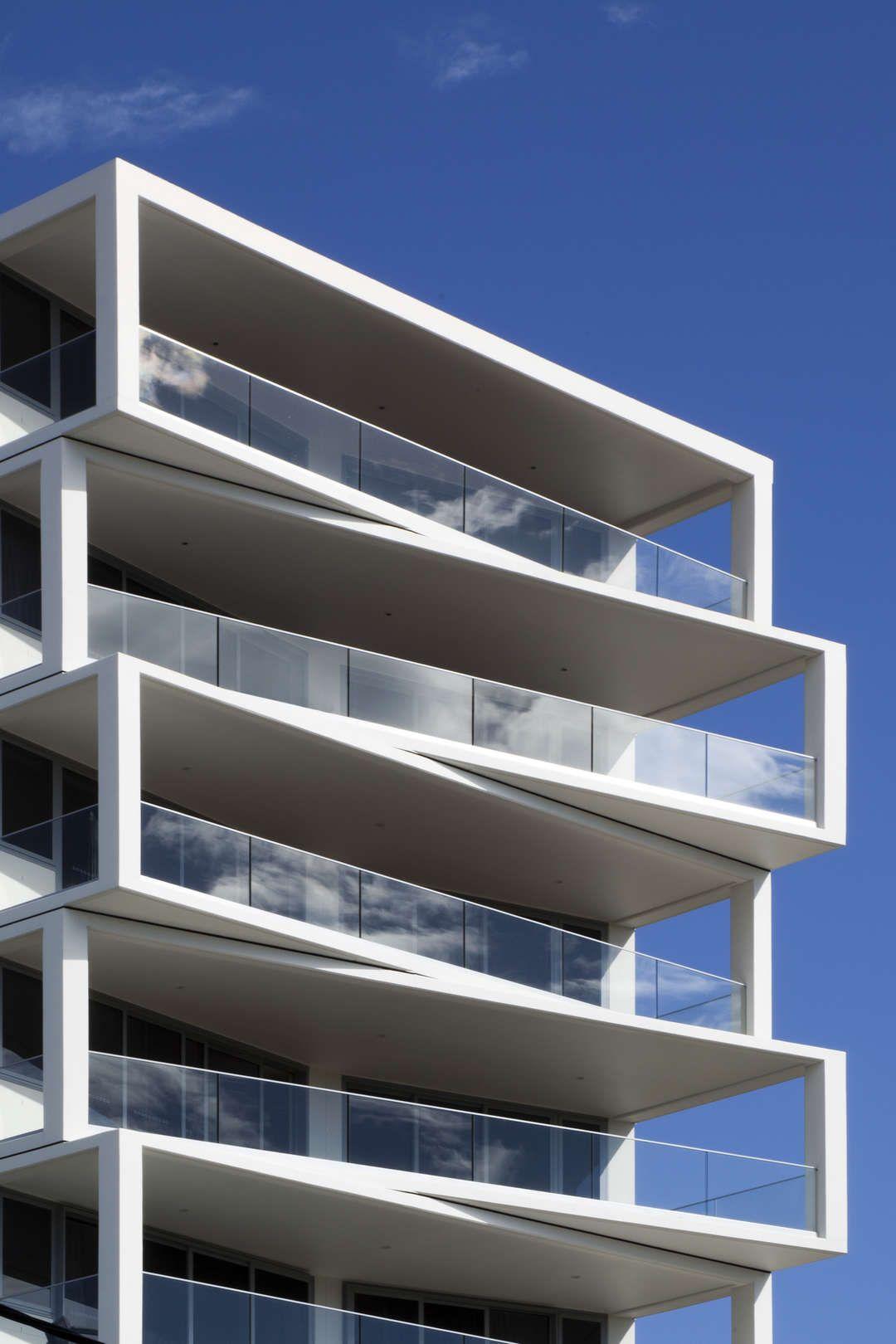 Torres com varandas dançantes - Brian Meyerson | Facade architecture, Modern  architecture, Residential architecture