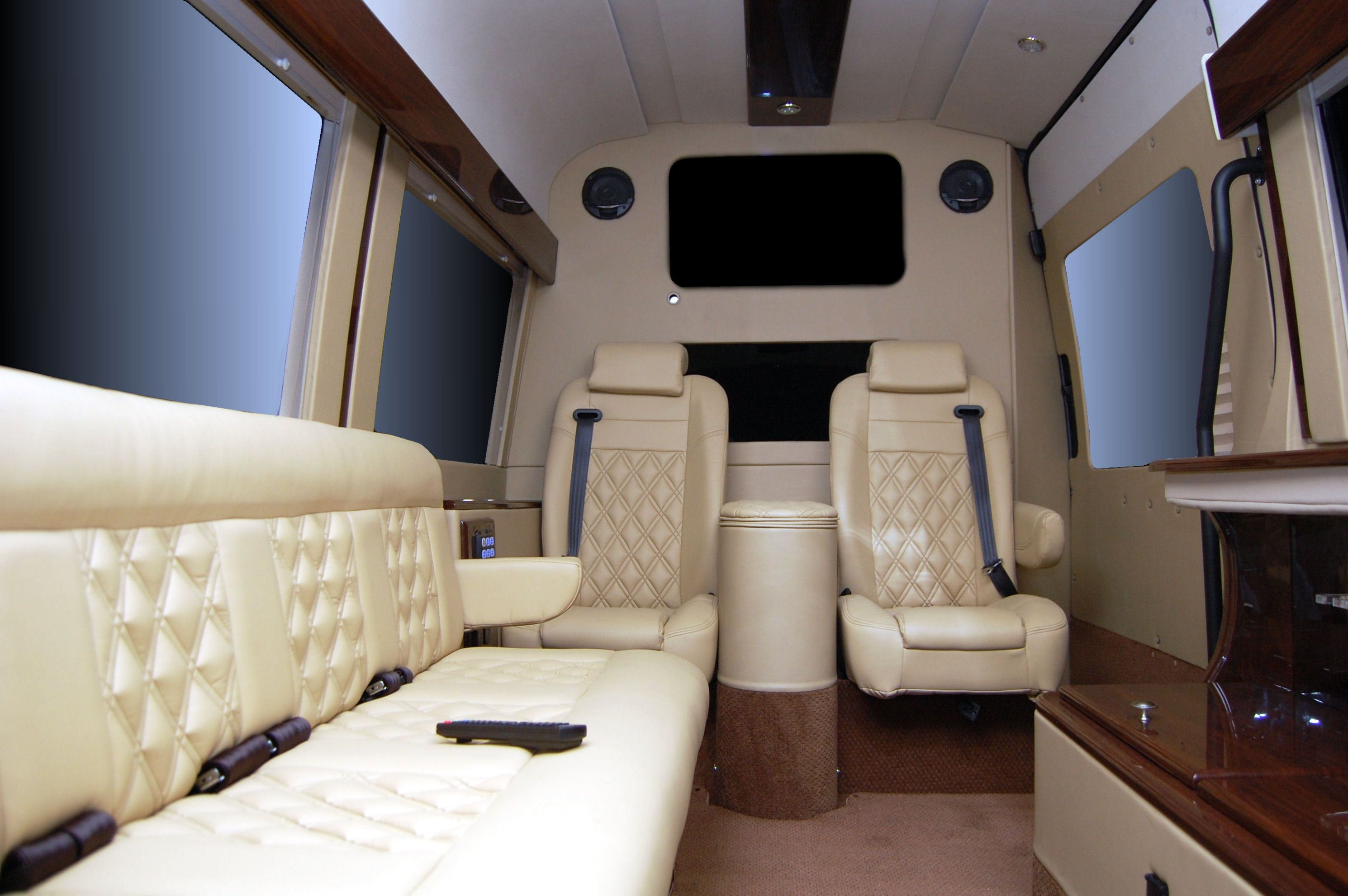 Battisti Customs Mercedes sprinter executive office edition.