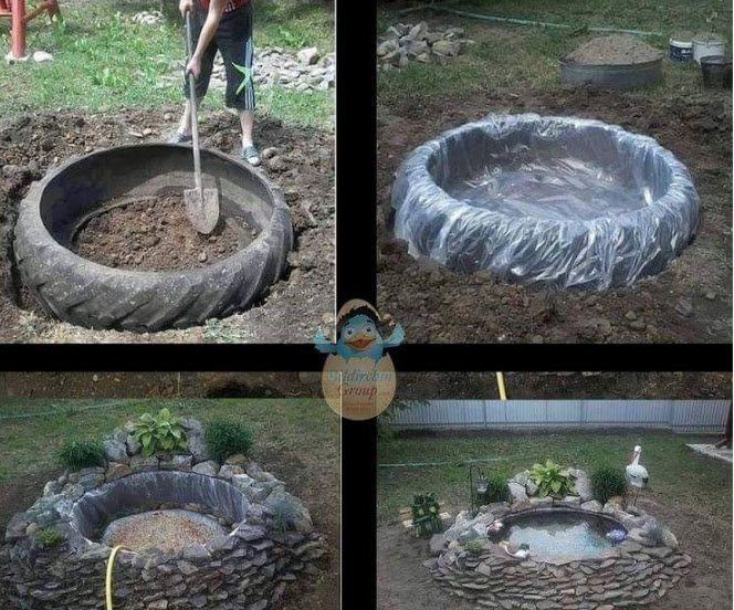 Great Low-Cost Koi Pond Project
