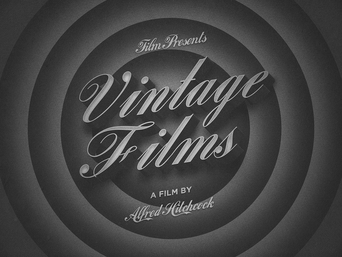Free Vintage Film Text Effect In 2020 Photoshop Text Effects Photoshop Text 3d Text Effect