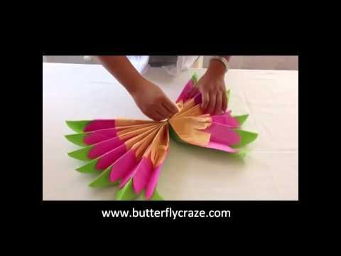 How to make tissue paper flowers youtube superboomviafo diy room decorations tissue paper pompoms origami flowers youtube mightylinksfo