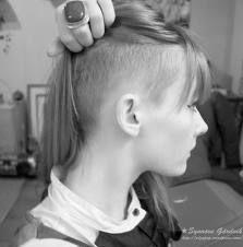 Resultado de imagen para long hair sidecut
