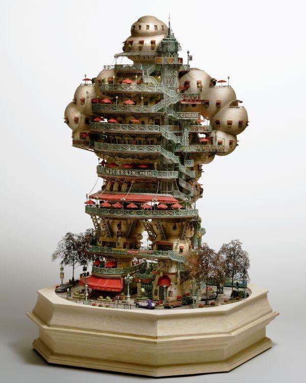 TIny worlds. Stunning Model buildings of Takanori Aiba
