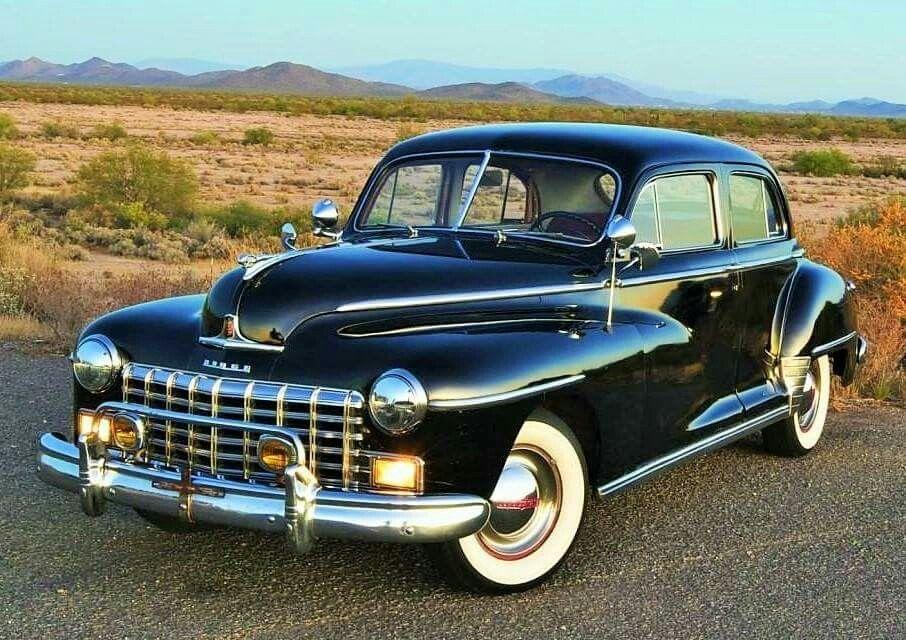 1946 Dodge Custom Series Town Sedan