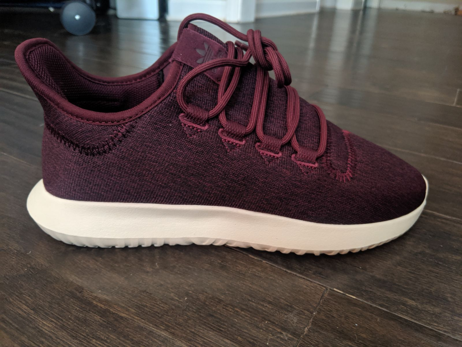Brand new Adidas tubular shadow shoes Size: 8 Color: Maroon