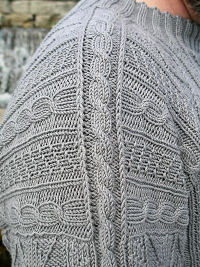 Arguyle gansey pullover: First Fall 2013 #knit #free_pattern