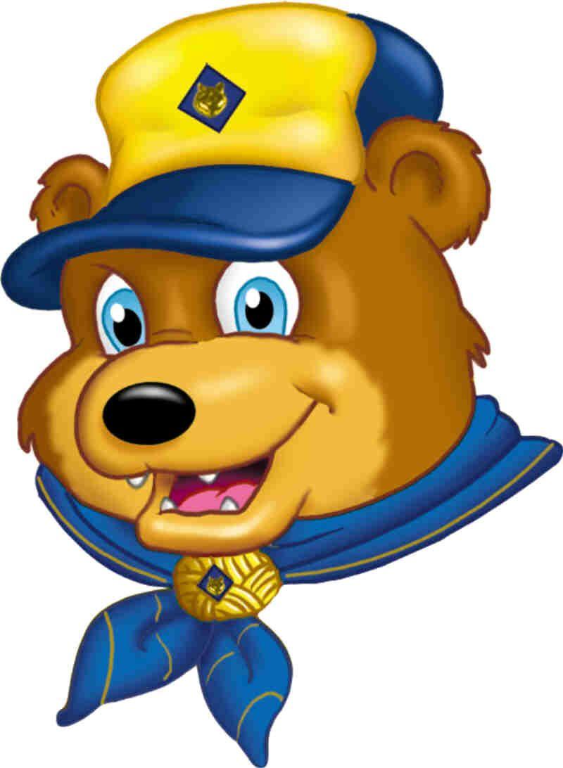 cub scout bear clip art clipart free clipart adam pinterest rh pinterest com girl scout clipart eagle scout clipart