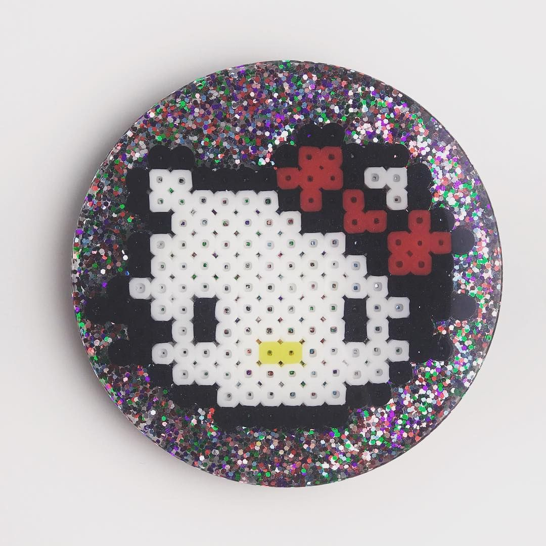Cherry Bomb Resin Coaster Set 3