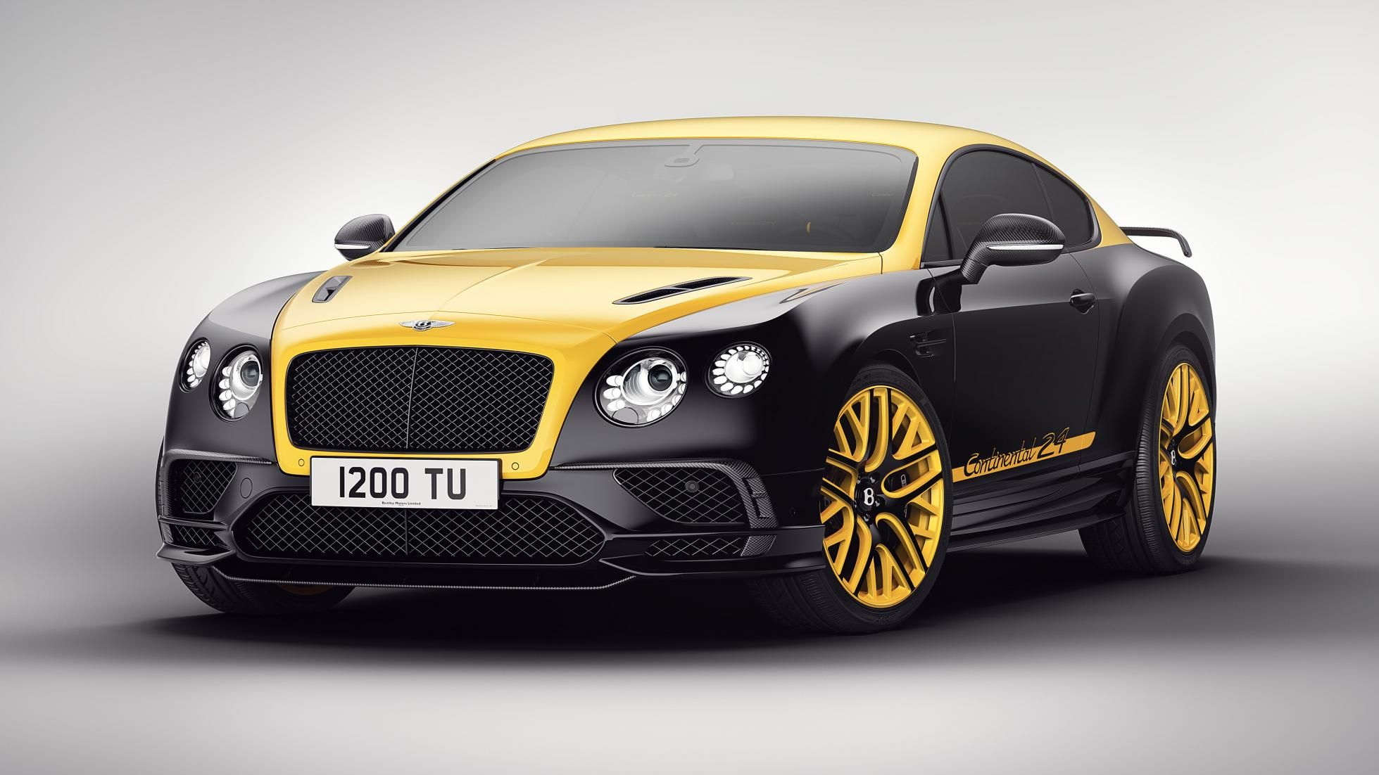 The bentley continental 24 is a modified 700bhp supersports