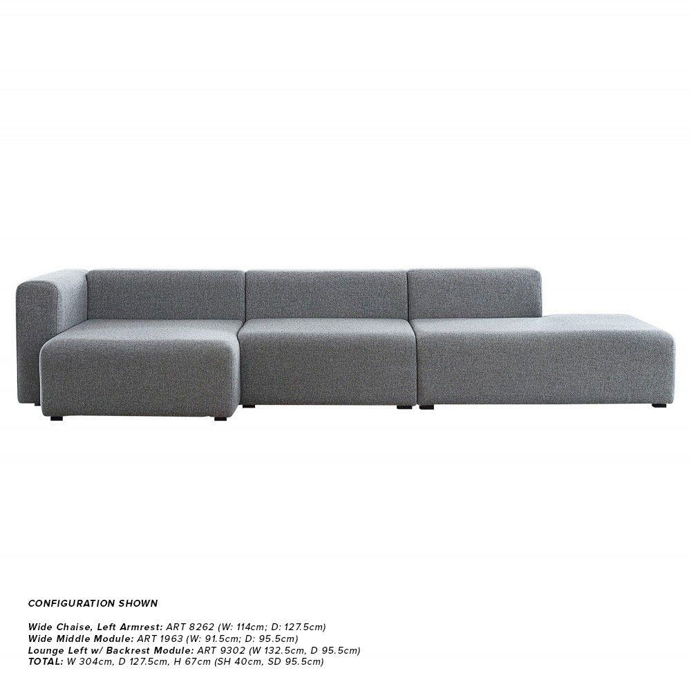 Hay Mags Sofa - Modular Components   Modular sofa, Mid century sofa ...
