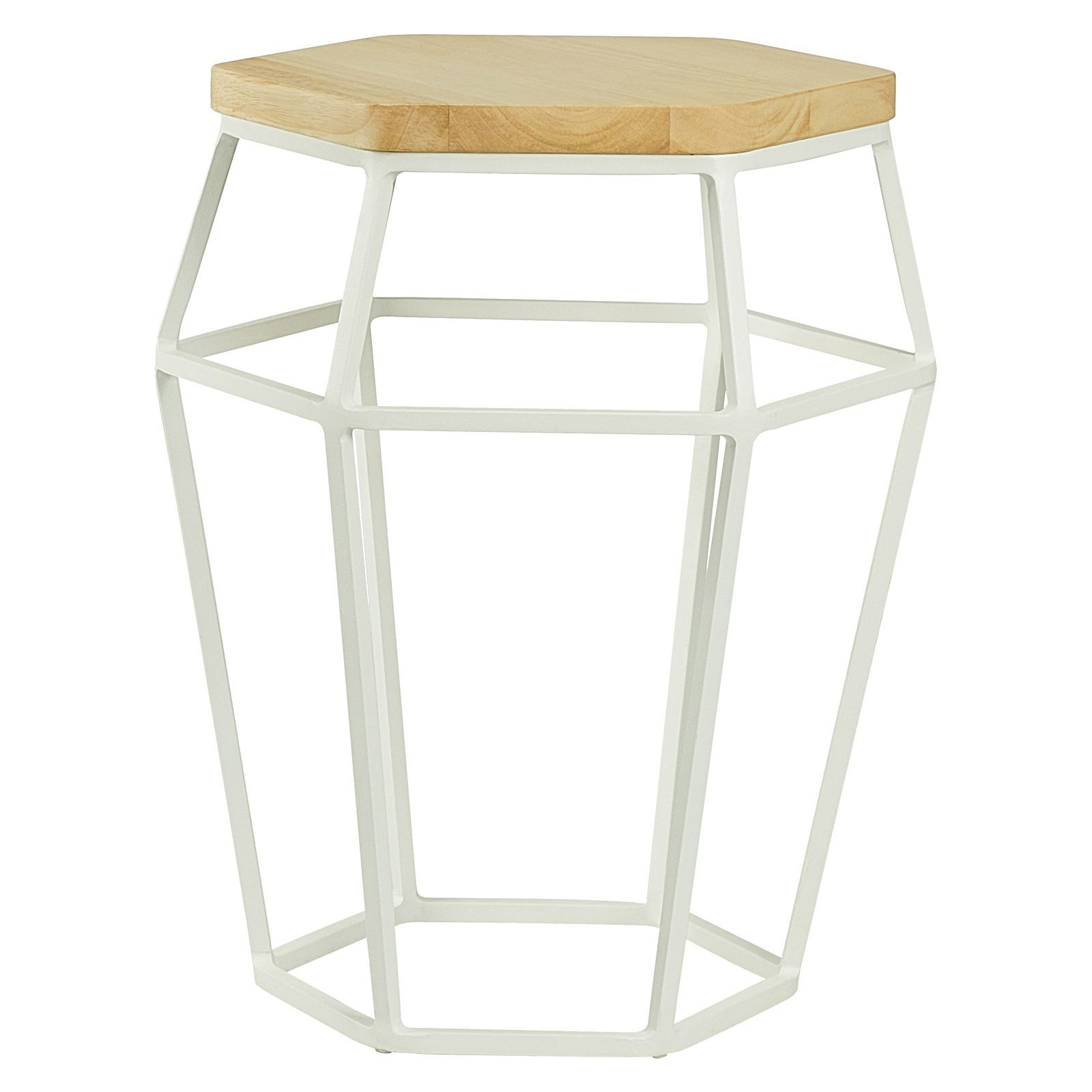 Ford White Side Table by Iniko | Zanui