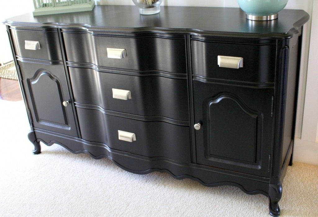 Console Painted In Benjamin Moore Black 16 Of The Best Paint Colors For Furniture