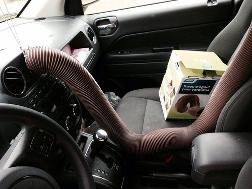 Diy Backseat Ac Extension Hose Diy Baby Stuff Diy Baby Hacks
