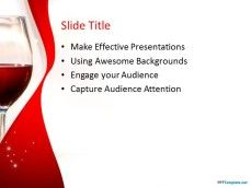 10237 red wine ppt template 0001 3 cool stuff to buy pinterest