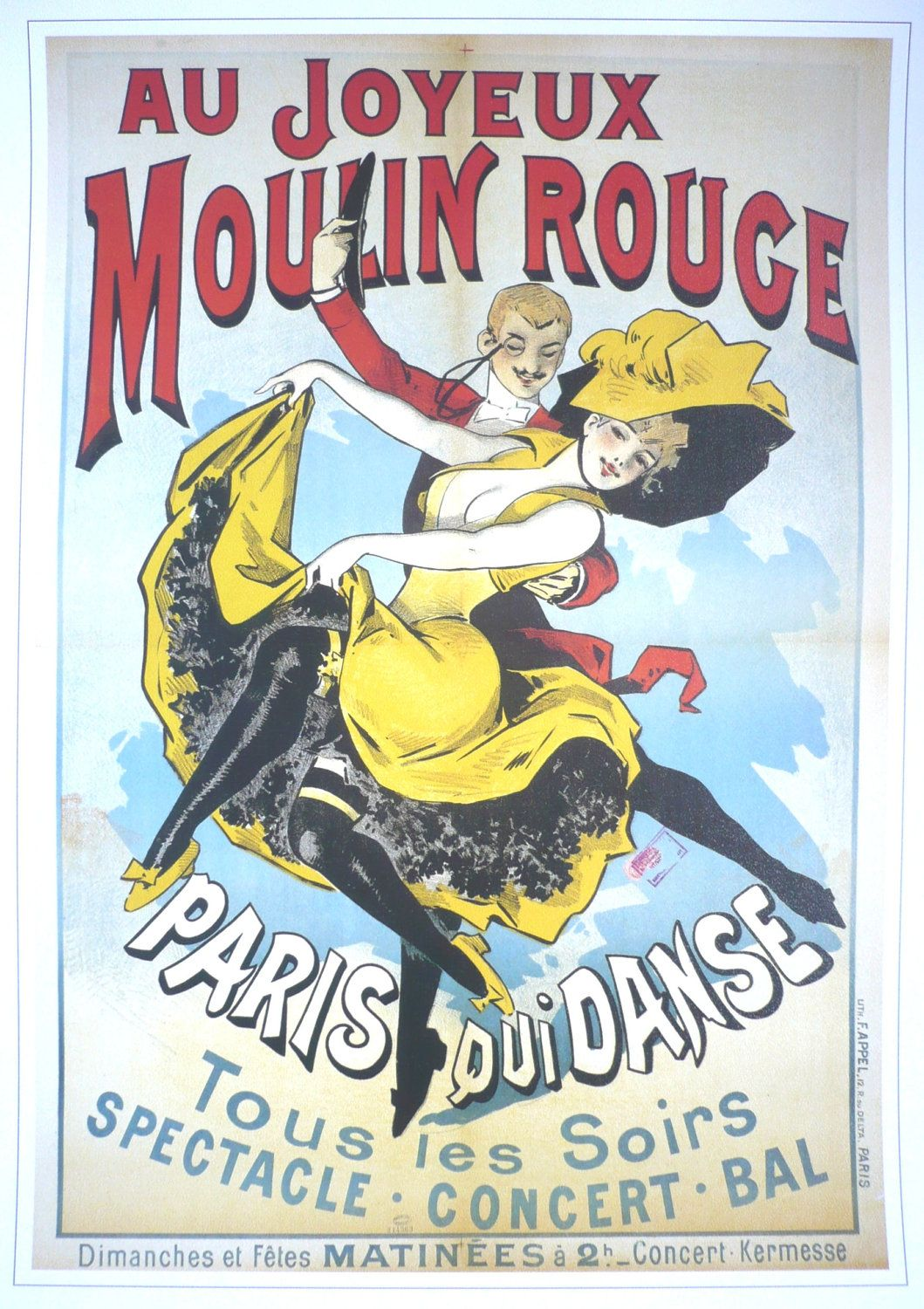 vintage moulin rouge posters - Google Search | Mendota ...