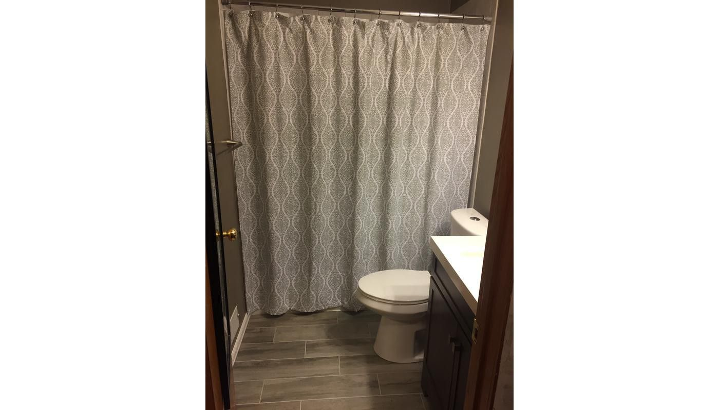 Wave Lines Shower Curtain White Threshold Green In 2019